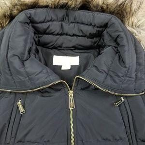 db08249d3 Michael Kors Down Coat with Zipper Chest Pockets